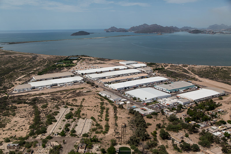 Aerial View of The Offshore Group's Manufacturing Community in Empalme