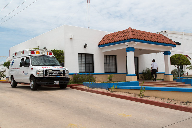 Medical Center at The Bella Vista Manufacturing Community in Emplame, Sonora, Mexico