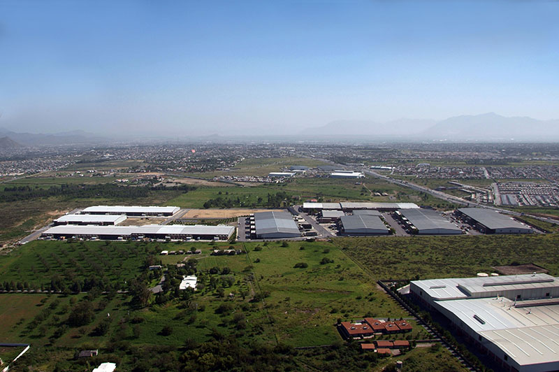 Aerial View of The Offshore Group's Industrial Park in Saltillo, Coahuila Mexico