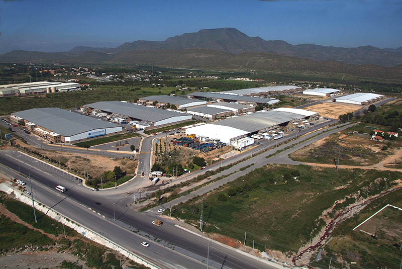 Aerial View of La Angostura Manufacturing Community