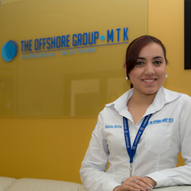 An employee of The Offshore Group in Mexico