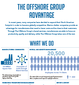 The Offshore Group Advantage [Infographic]