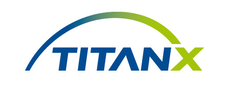 A picture of the titanx, a diesele engine cooling systems manufacturer, logo